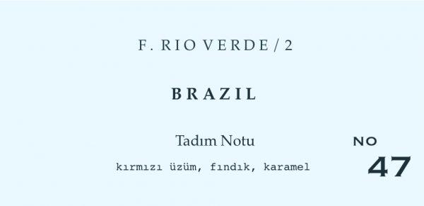 rio verde on yuz 2 1 BRAZIL - RIO VERDE %100 MUNDO NOVO